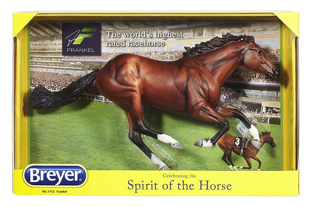 Frankel racehorse undefeated breyer model horse