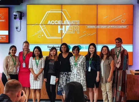 Pad2Go comes in second in Accelerate Her Pitch contest, 2019