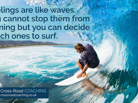 You can decide which feelings to surf!