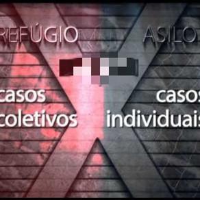 Diferencias entre ASILO POLÍTICO y REFUGIO. Brasil