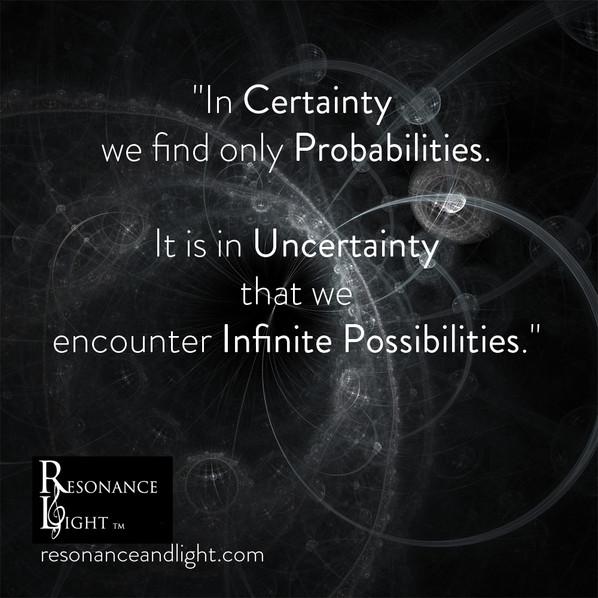Probabilities & Possibilities