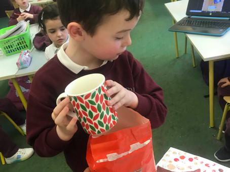 Porridge in Junior and Senior Infants was 'Just right'!