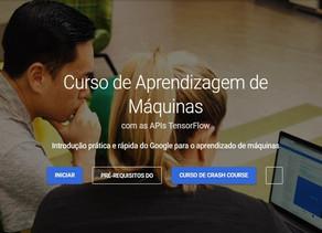 Google lança curso gratuito de introdução a Aprendizado de Máquinas