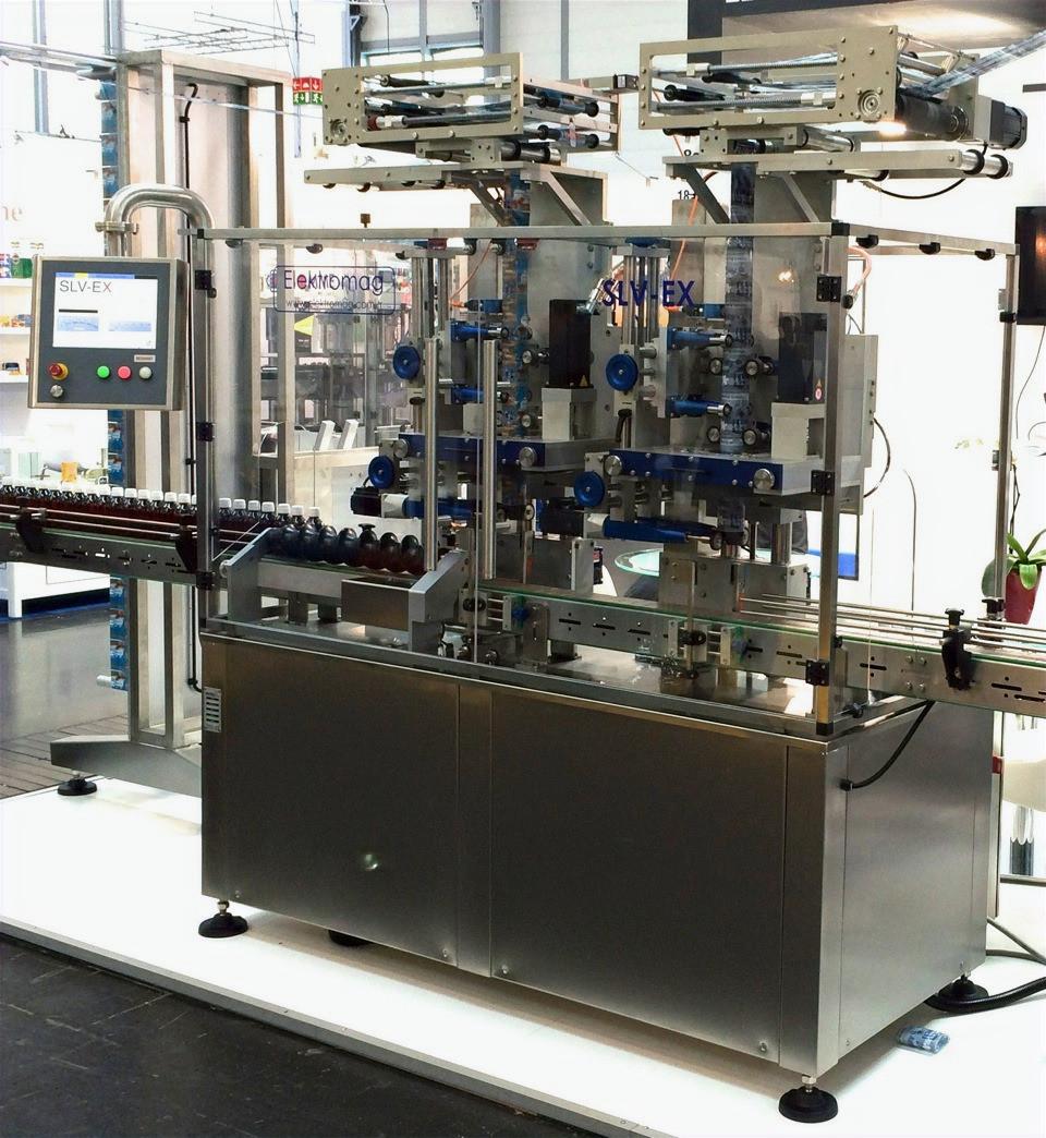 Çift Kafalı Otomatik Body Sleeve Makinesi