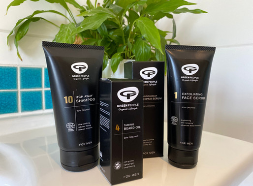 Green People's organic skincare for men