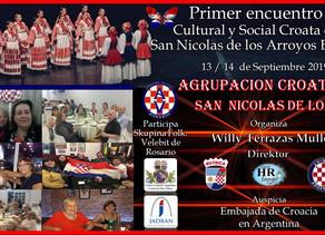 Encuentro socio-cultural croata en San Nicolás