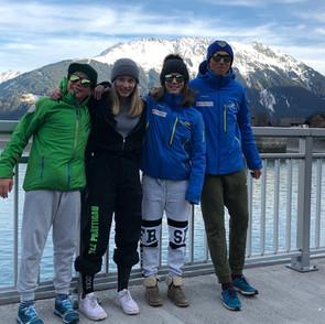 4 RLZ Fahrer im ARGE Alp Team Graubünden