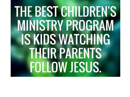 Dads & Moms: Where Do Your Children See Jesus On Your Priority List?