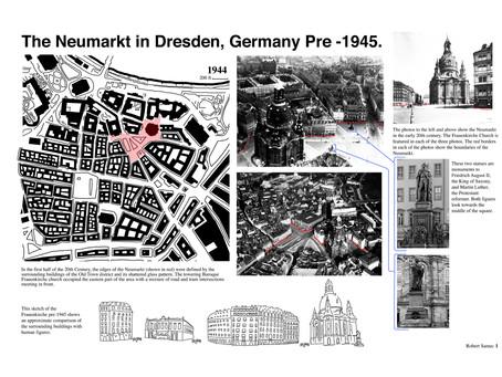 The Neumarkt in Dresden