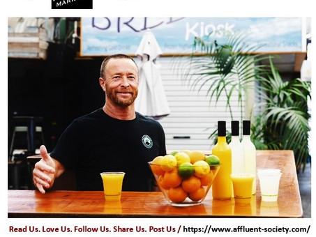 Love Story: Adrian Radford, Alive Juice, Fremantle, Western Australia