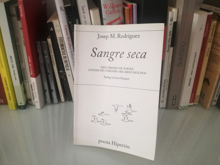 SANGRE SECA,  de Josep M. Rodríguez