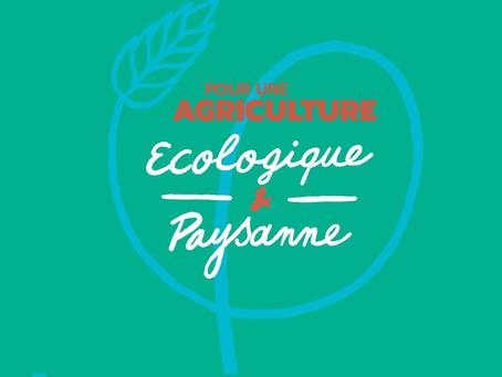 Projet alimentaire ALM : pour une agriculture écologique et + végétale ! - Conseil du 12/10/2020