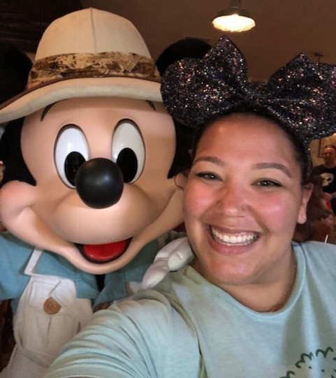 My favorite LeBownitte ears with the main mouse himself!