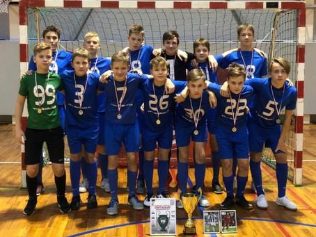 """FS """"Nikars"""" U-14 komanda pārliecinoši triumfē Gaujas kausā 2019!"""