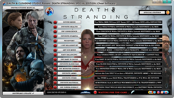 DEATH STRANDING SPECIAL EDITION Cheat Software (LIFE-TIME KEY)