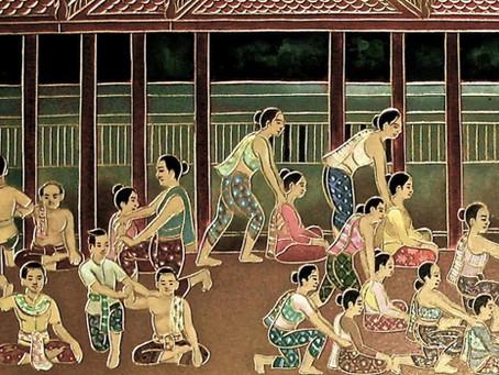 Thai Massagem, origens e influências