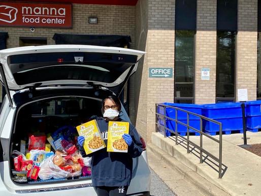 Manna Food Center Donation - COVID-19 Efforts