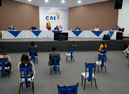 CNE niega solicitud de inscripción del binomio presidencial del movimiento Amigo