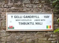 Hay-on-Wye has been twinned with the ancient Malian city of Timbuktu since 2007.