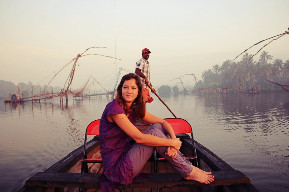 backwaters cherai beach Kerala Inde