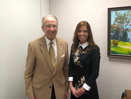 Meeting Senator Chuck Grassley
