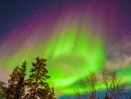 Finlandia el país de las auroras boreales