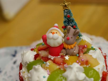 羽鳥の森のクリスマスケーキ・コンテスト!