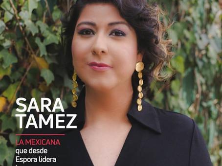 Sara Tamez. LA MEXICANA que desde Espora lidera la carrera digital en el continente