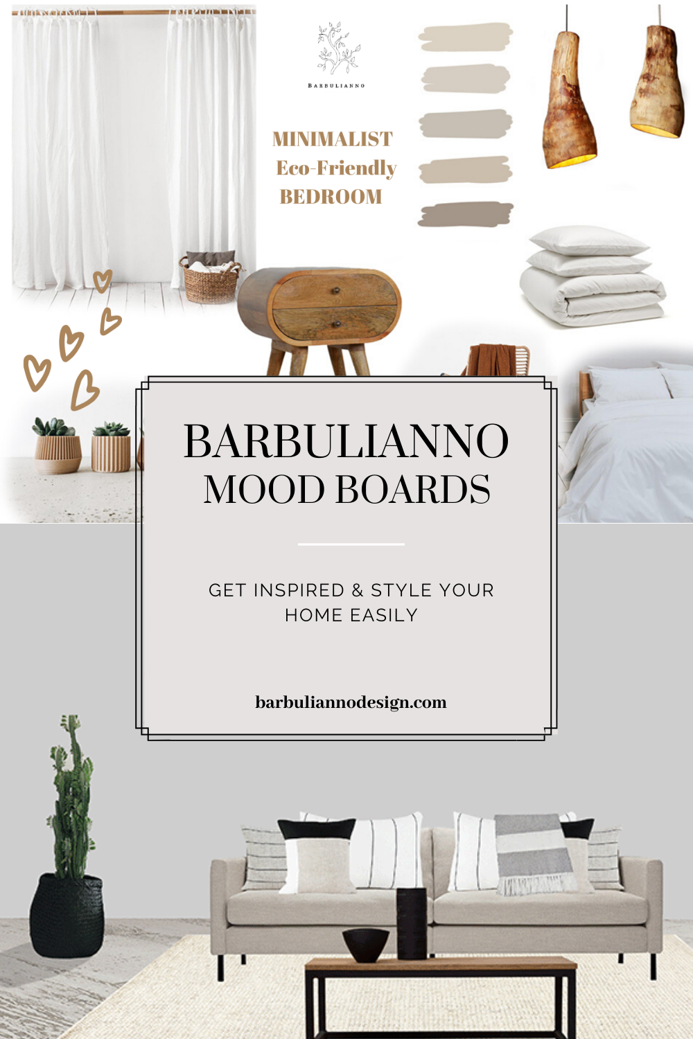 Mood Boards Interior Inspiration Barbulianno Design