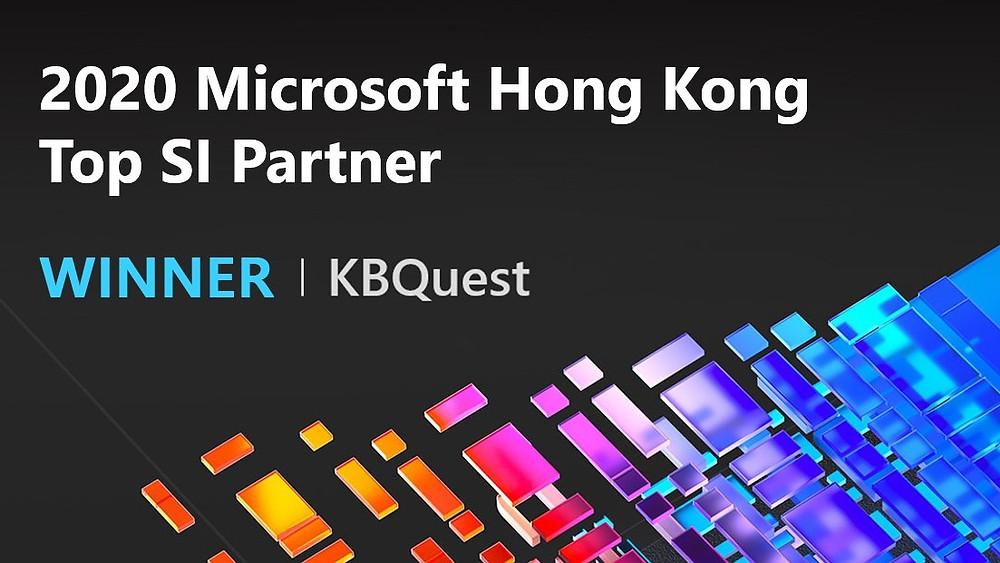 KBQuest Named Wiiner of Microsoft Hong Kong Top SI Partner