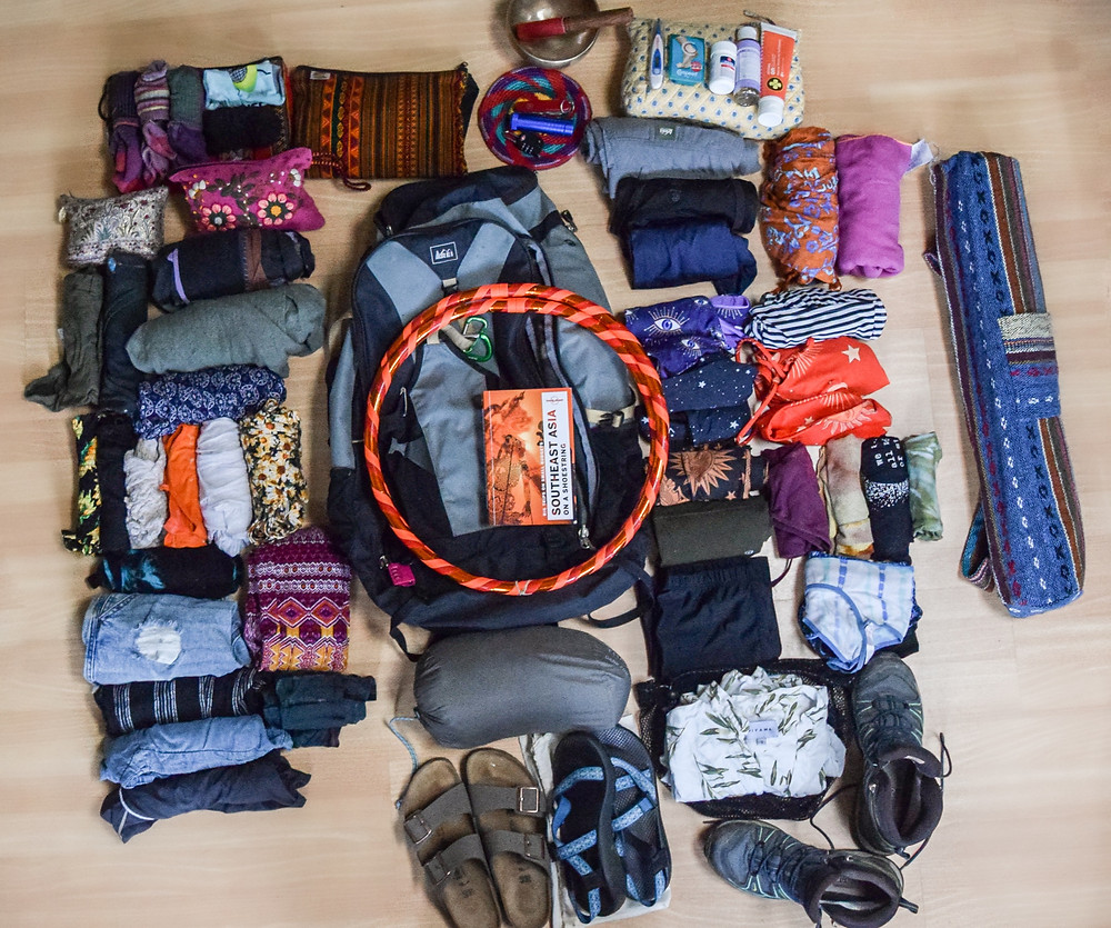 Backpacking Indonesia, what to pack