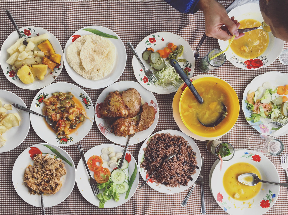 Lunch at Finca Agroecologica El Paraiso in Vinales, Cuba