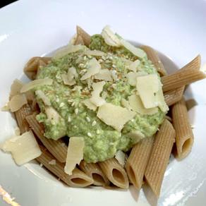 Pâtes à la crème brocolis-poulet 🥦