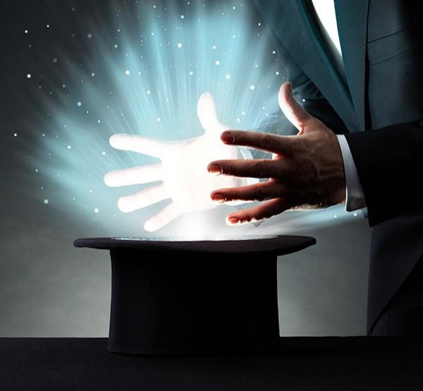 Magician's hands and Peninsula Family Coaching