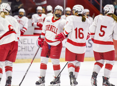 Cornell Women's Hockey Continues Rolling, Defeats Colgate 2-0 At Home