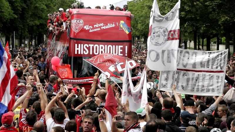 DFCO montée en Ligue 1