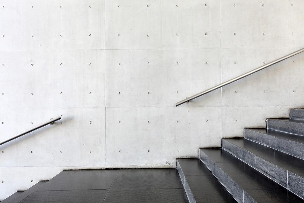 コンクリートのタイル