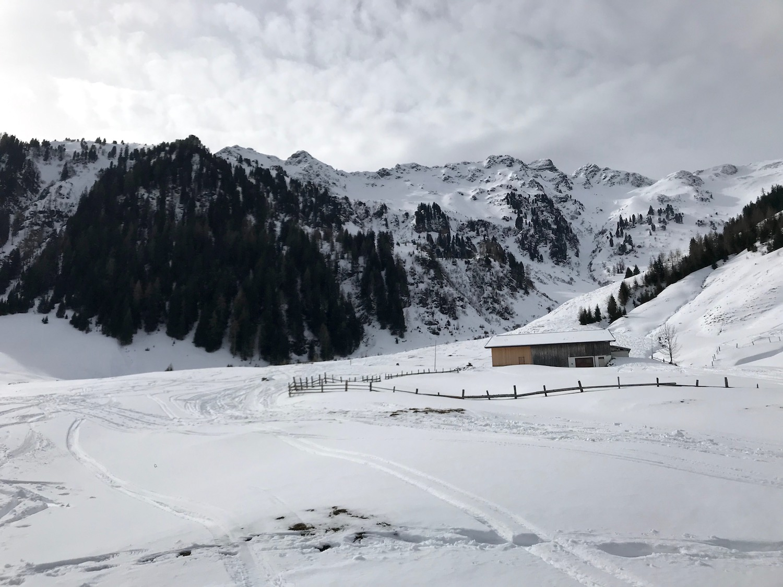 Aufstieg Skitour, Gamskopf Inneralpbach