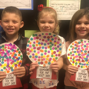 Delran Students are 100 Days Smarter!