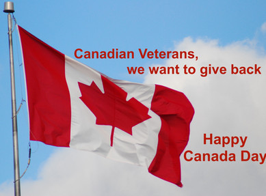 Happy Canada Day - We are giving back to Canadian veterans !