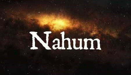 Notes from Nahum