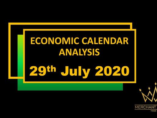 Merchant Economic Calendar | July 29, 2020
