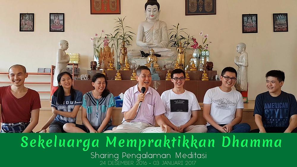 Satu keluarga merasakan manfaat Meditasi Vipassana