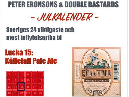 Peter Eronsons & Double Bastards julkalender - Lucka 15-17