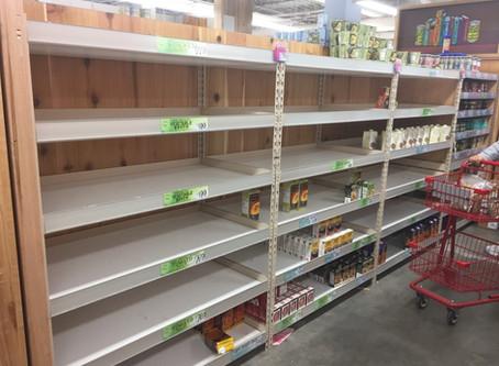 Coronavirus, Empty Shelves and Socialism