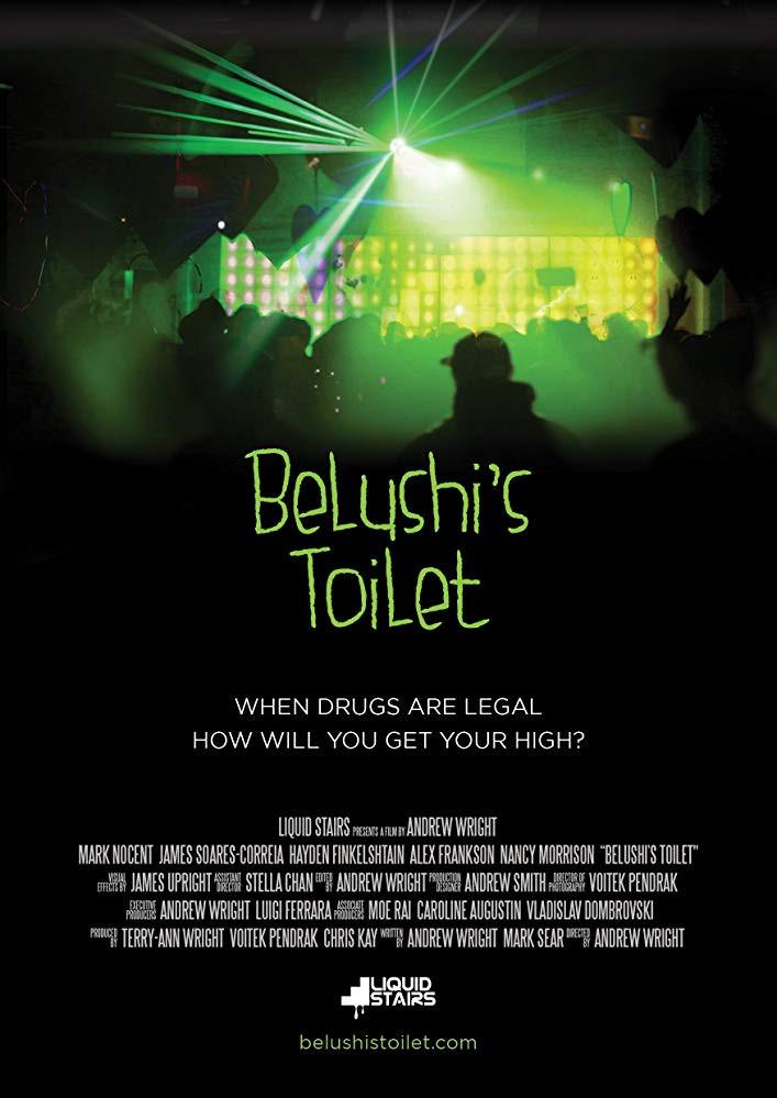 Belushi's Toilet Movie Poster