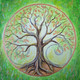 Tree of Life by Jacqui de Rose Art