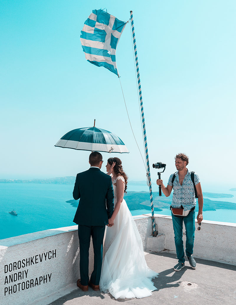 Wedding in Greece, Santorini