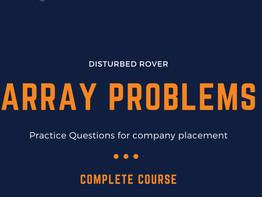 Array Problems(JAVA)