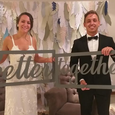 Fotosouvenir en la boda de Maru & Pedro en Bahía Punta Chica